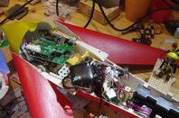 Our Vulture 2's dismantled avioncs