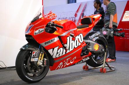 Ducati racing bike