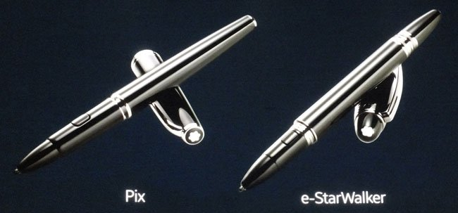 Mont Blanc Pix and e-StarWalker screenwriters