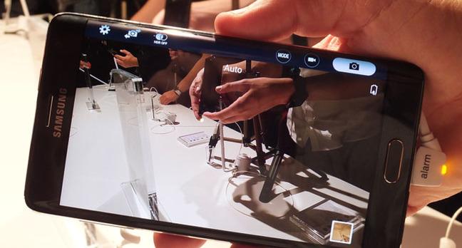 Samsung Galaxy Note Edge camera