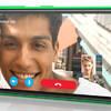 Nokai Lumia 735 showing Skype chat