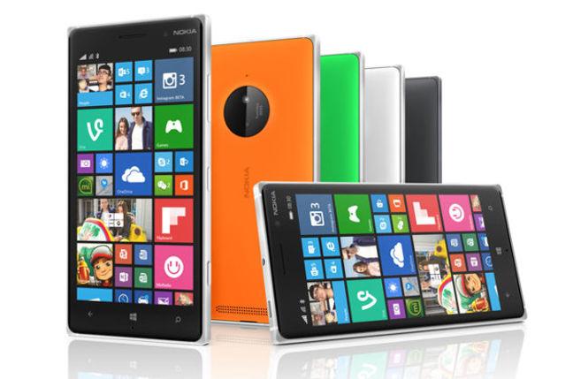Nokia Lumia 830 group