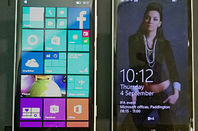 Nokia Lumias. 830 on the left, 930 on the right