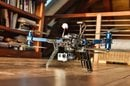 3D Robotics drone in Richard Branson's house