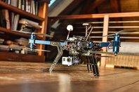 3D Robotics drone in Richard Branson's house