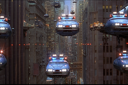 Flying cars in The Fifth Element