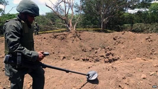 Nicaraguan meteorite investigated by soldier
