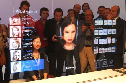 Panasonic Virtual Make Up