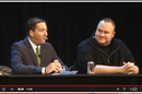 Glenn Greenwald and Kim Dotcom