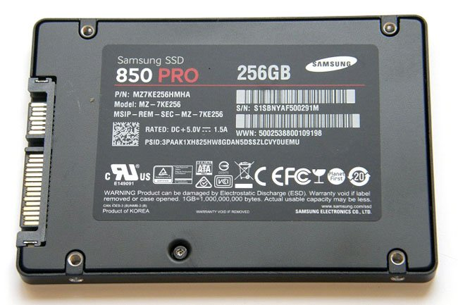 A SCORCHIO fatboy SSD: Samsung SSD850 PRO 3D V-NAND • The Register