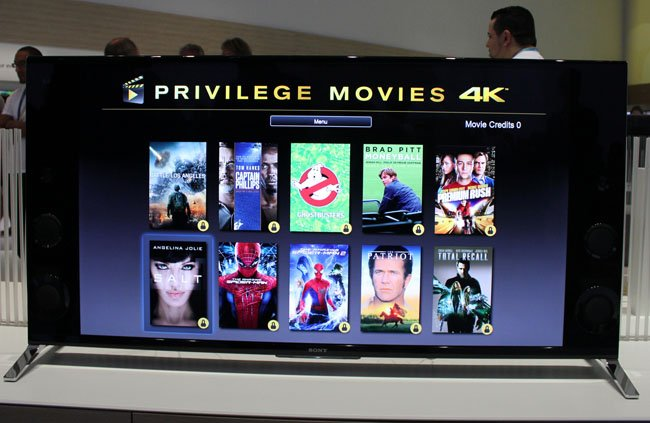 Sony Privilege Movies 4K promotion
