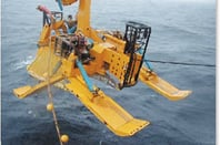 Cable laying plow