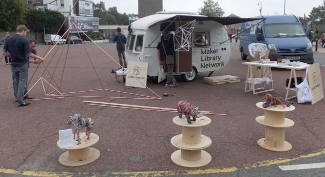 GRAS mobile Maker Library Network