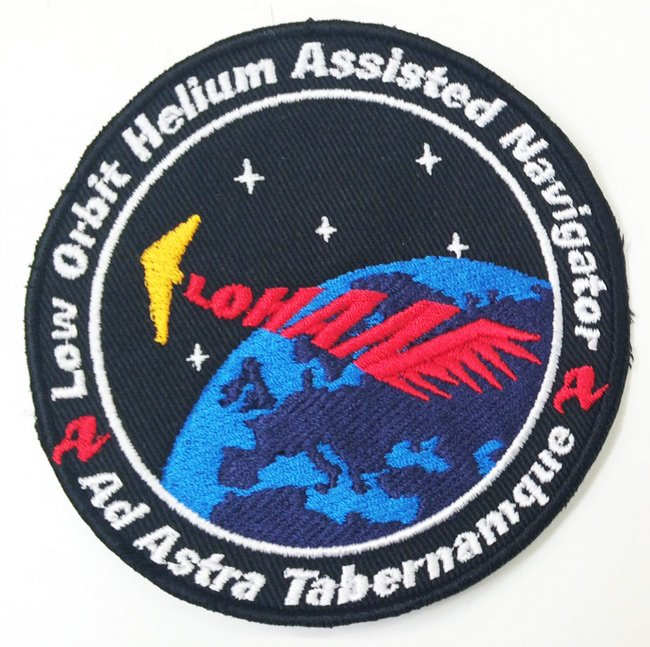 Our embroidered LOHAN mission patch