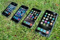 Apple iPhone 4s, 5s, 6 and 6 Plus