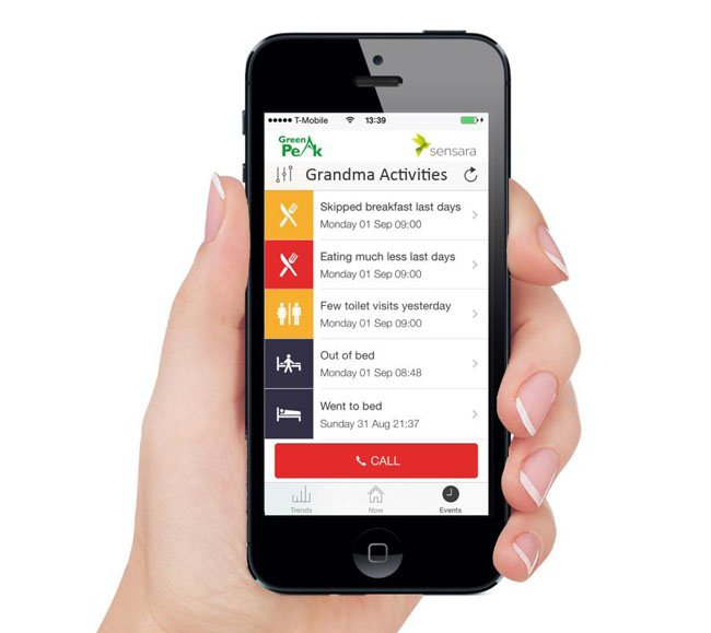 GreenPeak senior lifestyle app