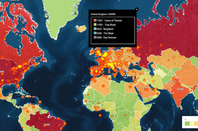 HeatMap traces content streams globally
