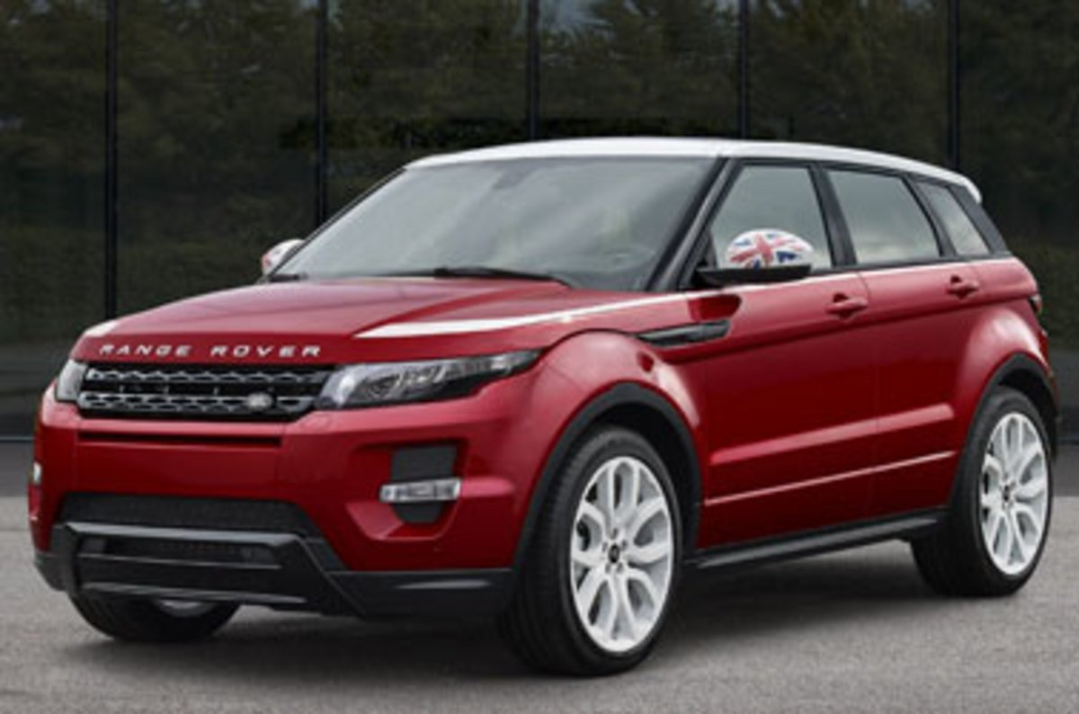 Range Rover To Fit Trendy New Suv With Frikkin Laser Huds