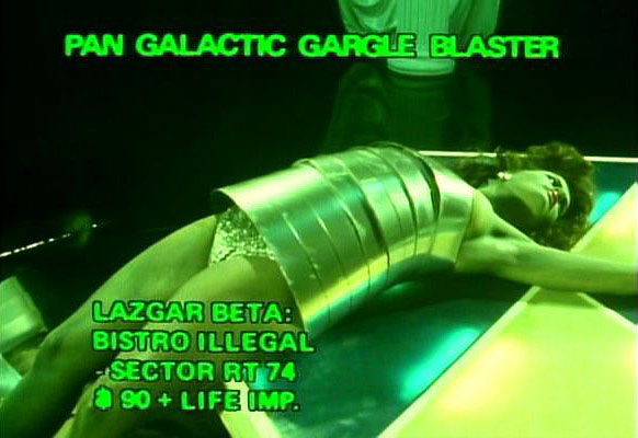 Pan Galactic Gargle Blaster after effects