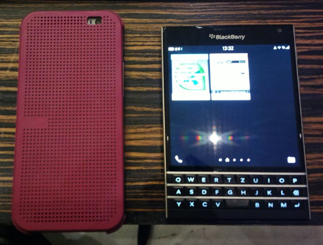 Good grief! Have you seen BlackBerry's square smartphone