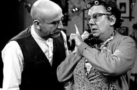 Alf Garnett and Else BBC sitcom - Till Death Us Do Part