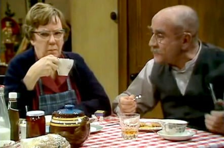 Alf Garnett and Else
