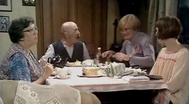 Else and Alf Garnett, Mike and Rita