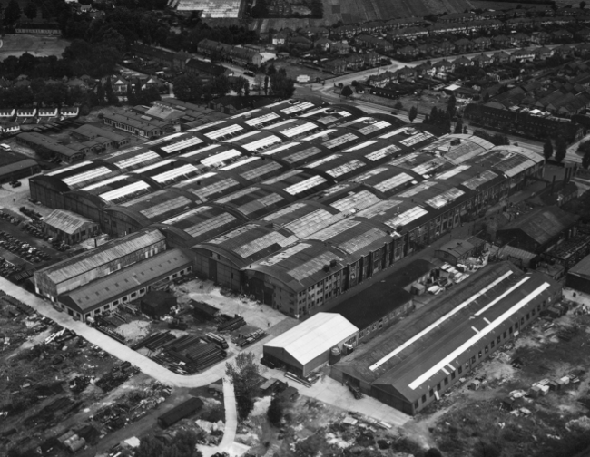 Ham factory, credit BAE Systems via Royal Air Force Museum