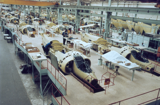 Harriers at Ham BAE Systems via Royal Air Force Museum