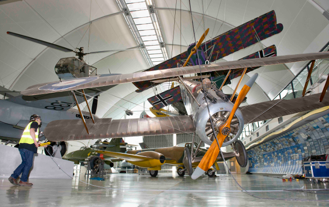 RAF Museum Camel, credit: Royal Air Force Museum