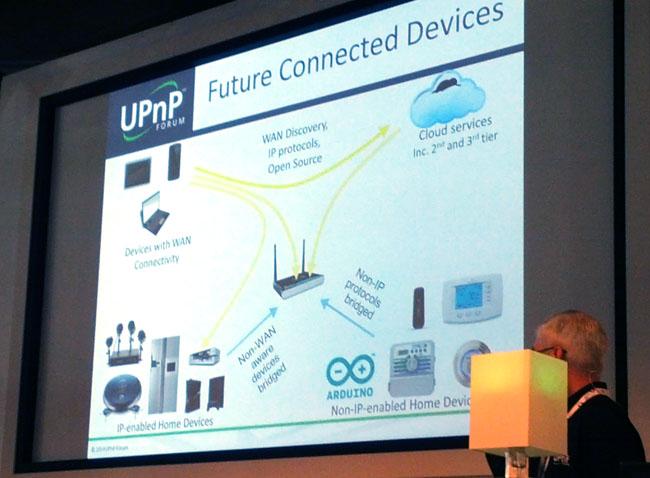 IBC UPnP Forum presentation