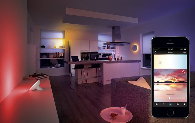 Philips Hue lighting control