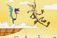 Wile E. Coyote goes over the edge again