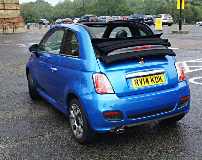 Fiat 500S: So pleasingly sporty we didn't want to give it