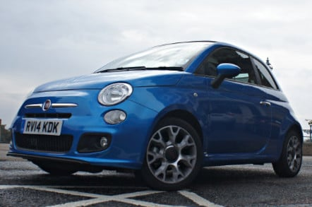 fiat inch non exhaust resonated back cat abarth turbo fitted