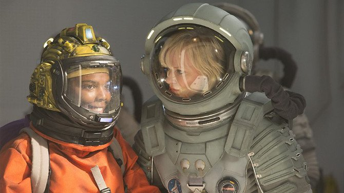 Courtney and Captain Lundvik on Kill The Moon