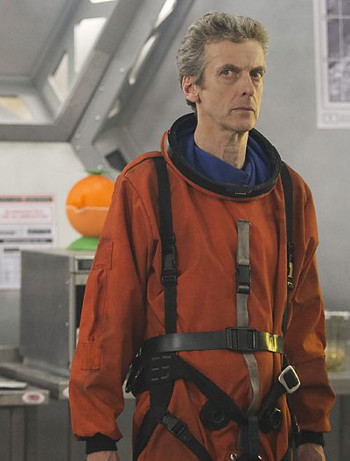 Doctor Who on Kill The Moon
