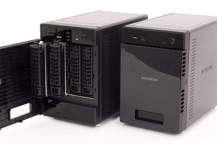 Netgear ReadyNAS 314 (RN31400) 4-bay NAS box