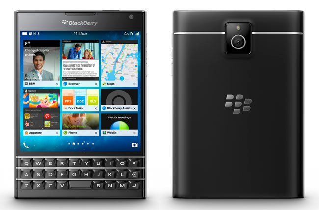 Vulture takes BlackBerry's Passport through customs • The