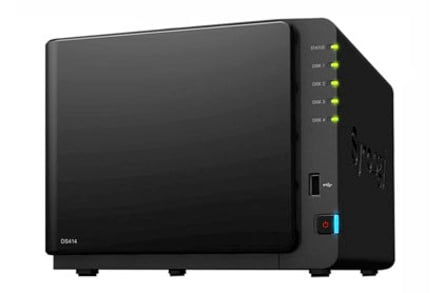 Synology DS414 4-bay NAS box