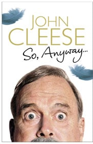 John Cleese – So, Anyway... book cover