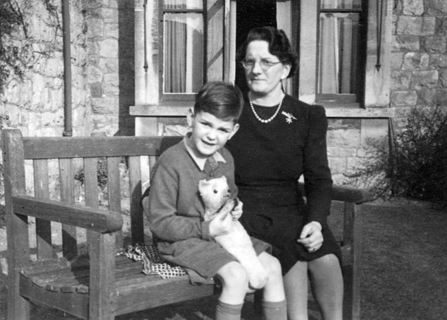 John Cleese with mother