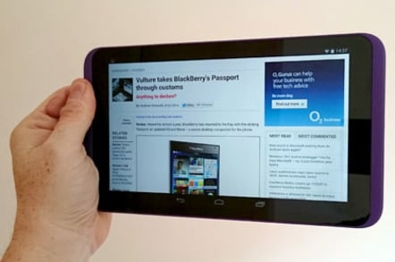 Tesco Hudl 2 Android tablet