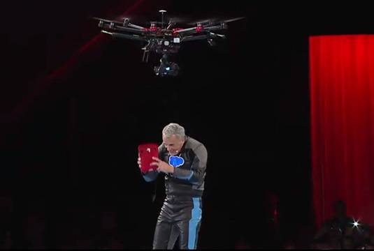 Drone delivery of Coke