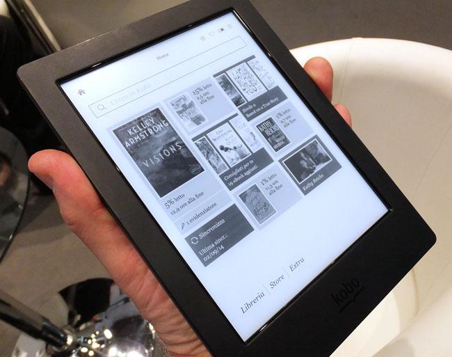 Kobo Aura H2O e-reader