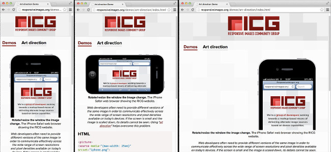 Responsive images demo pic