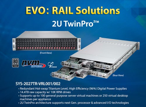 Supermicro EVO: RAIL