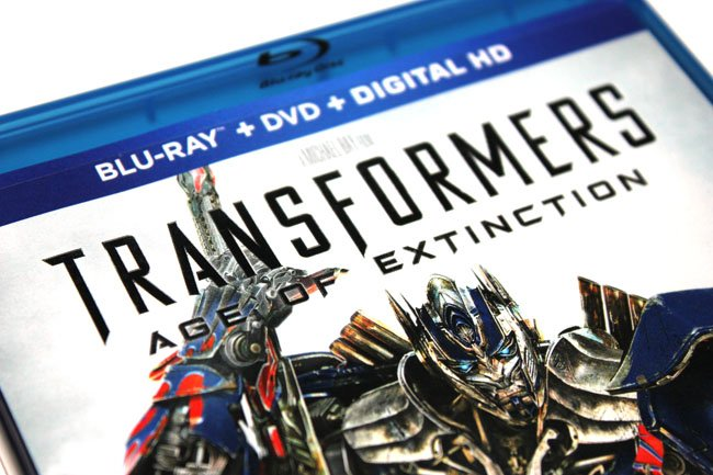 Transformers: Age of Extinction Dolby Atmos Blu-ray disc