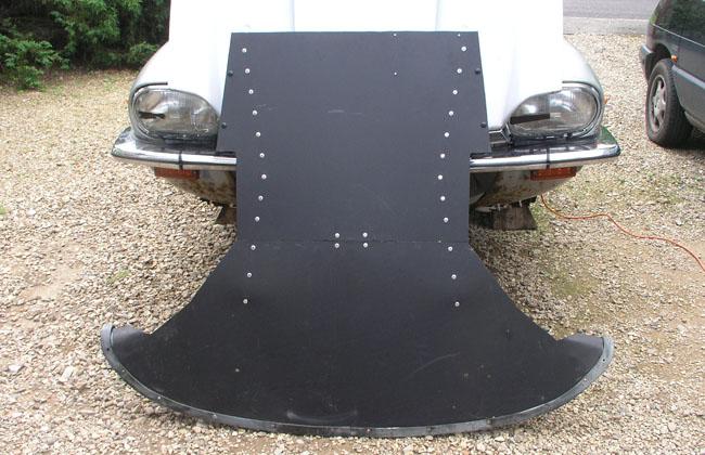 Jaguar XJ-S undertray modification