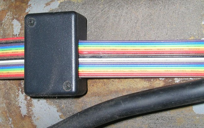 Modified wiring harness